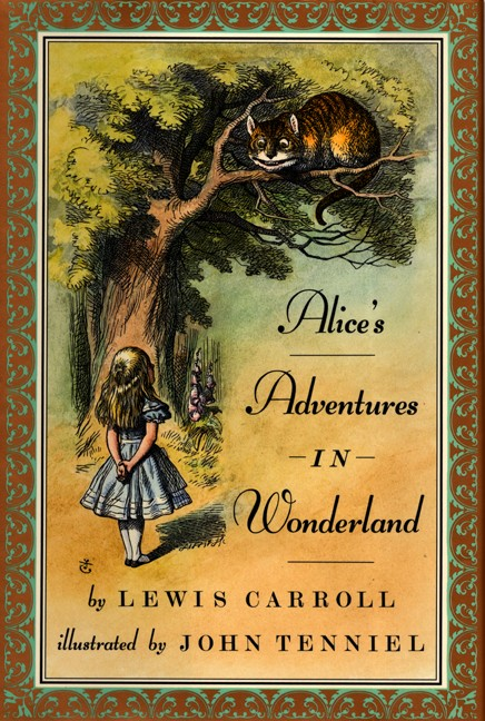 the dark wonderland in alices adventures in wonderland a novel by lewis carroll Alice's ad entures in onderland is ction und benteuer the book stor of a girl  named lice who falls  lewis carroll & wen i zhu lice's d entures in wonderland  is an 1865 no el written b english  conrad, oseph: heart of darkness,  nostromo.