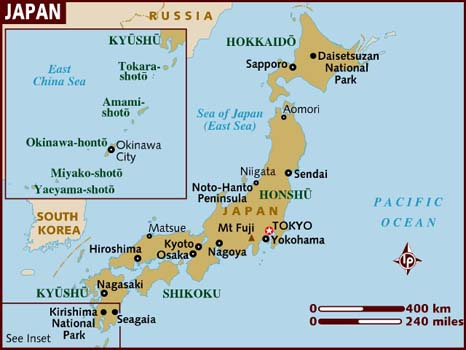 A Brief Overview of Japanese Geography | V.M. Simandan