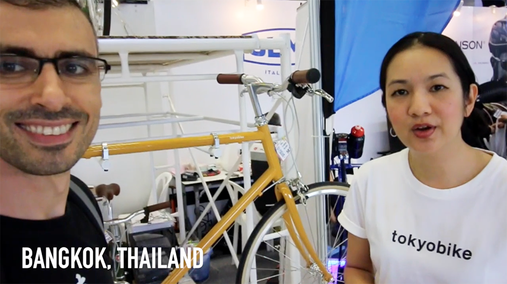 Tokyobike Thailand offers bicycles that will make your journey enjoyable